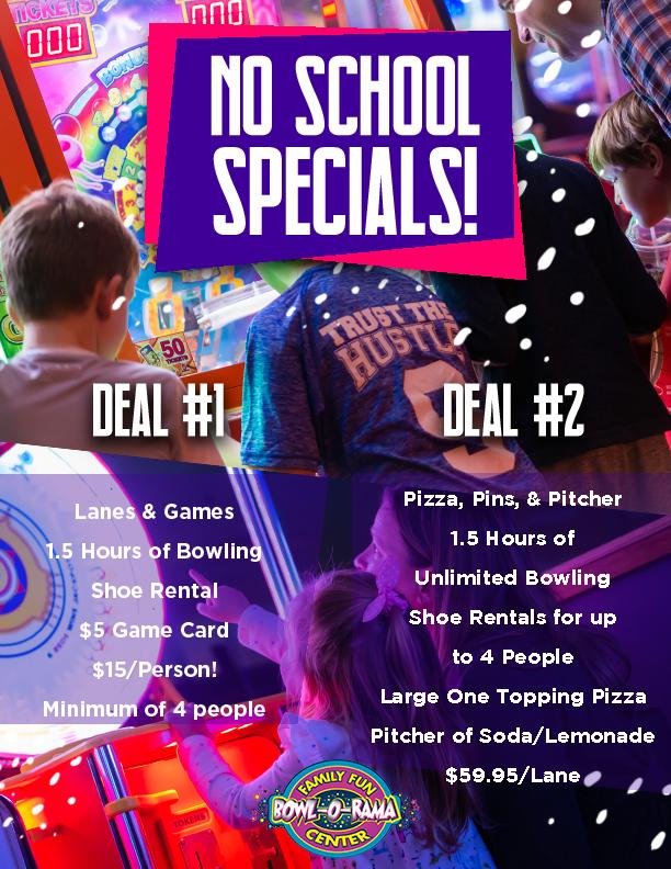 No School Deals!
